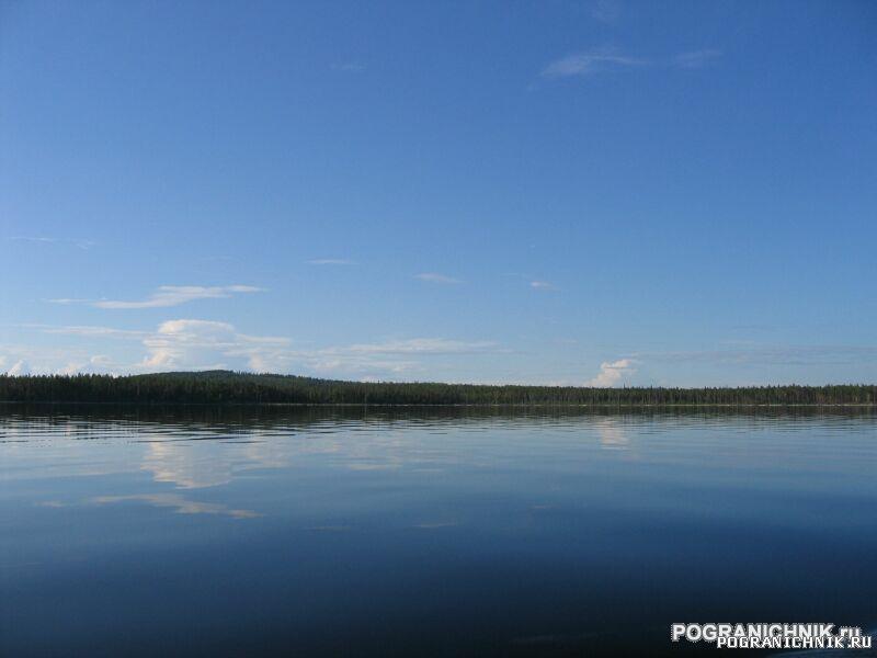 Калевальский ПО, Вмятина. Озеро Пяозеро.