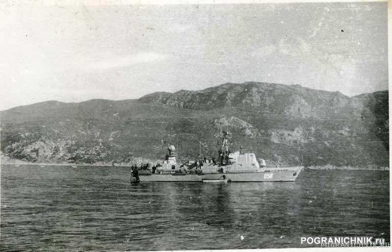 ПСКР 645 на рейде Балаклавы