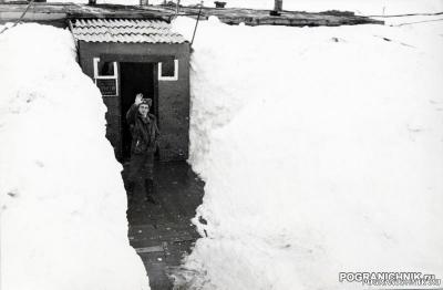 СВПО. ПЗ на острове Врангеля, начало мая 1989 года.