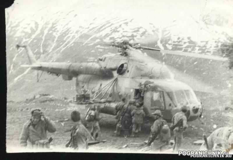 КСАПО.Куфабское ущелье.Весна 1983г.