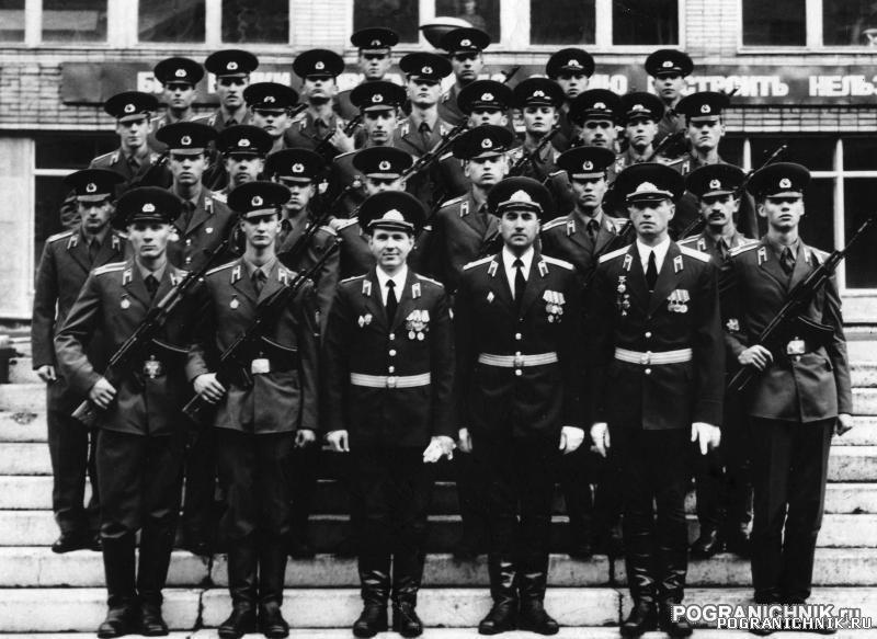 Голицыно. 1990-1994. 34 группа. 1 курс. Присяга