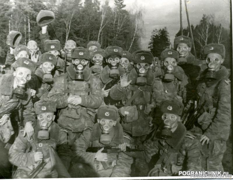Голицыно. 1990-1994. 34 группа. На одном из пеших переходах