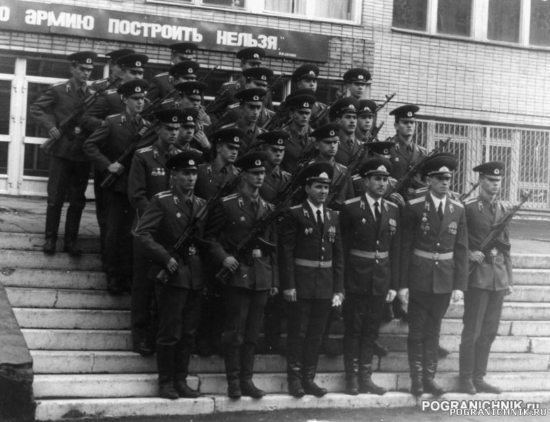 1990 год. 3 батальон. 34 группа.  1 курс, присяга.