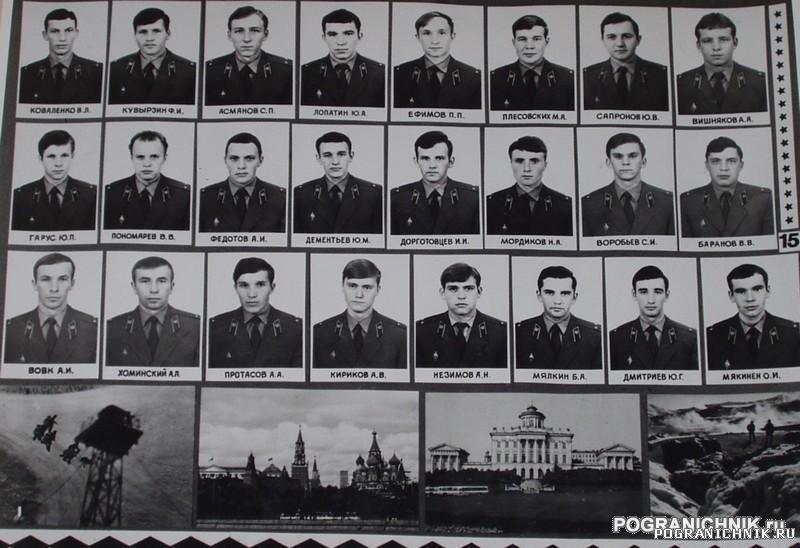 Голицыно 2 дивизион 15 группа. выпуск 1979