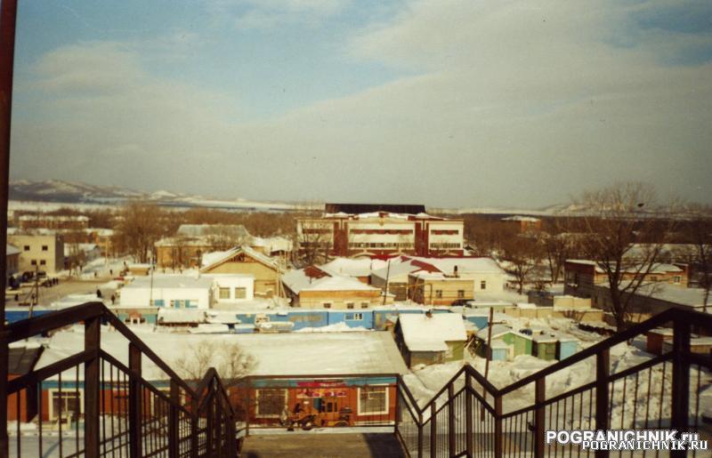 КТПО, вид с виадука на пос. Пограничный Приморского края. Ме