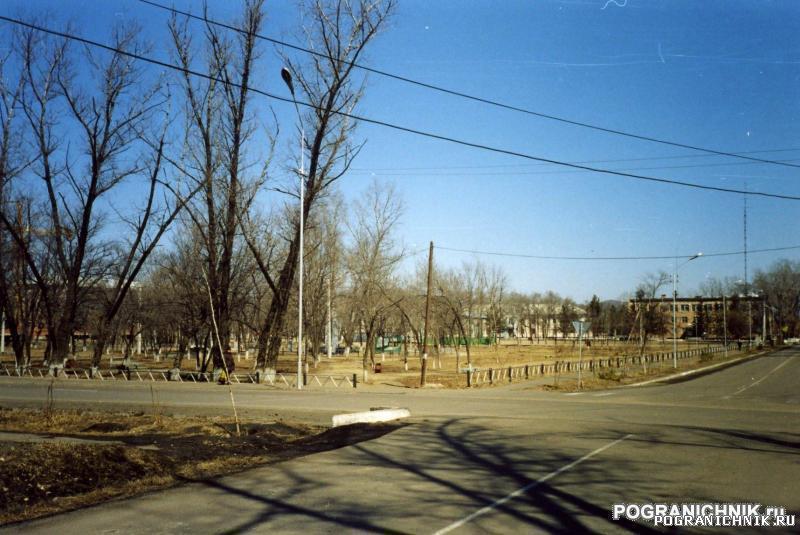 КТПО, пос. Пограничный. парк им. Котельникова