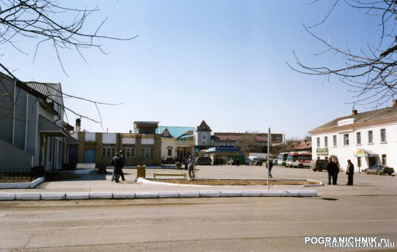 КТПО, автовокзал п. Пограничный