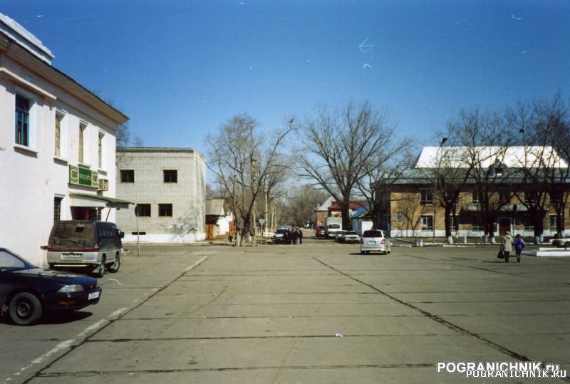 КТПО, пос. Пограничный. Площадь а/вокзала