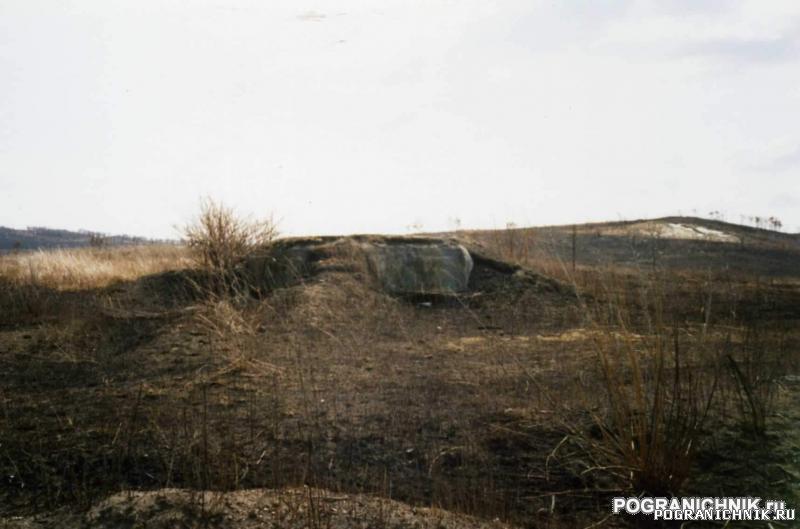 КТПО, перед подъездами к поселку Пограничный