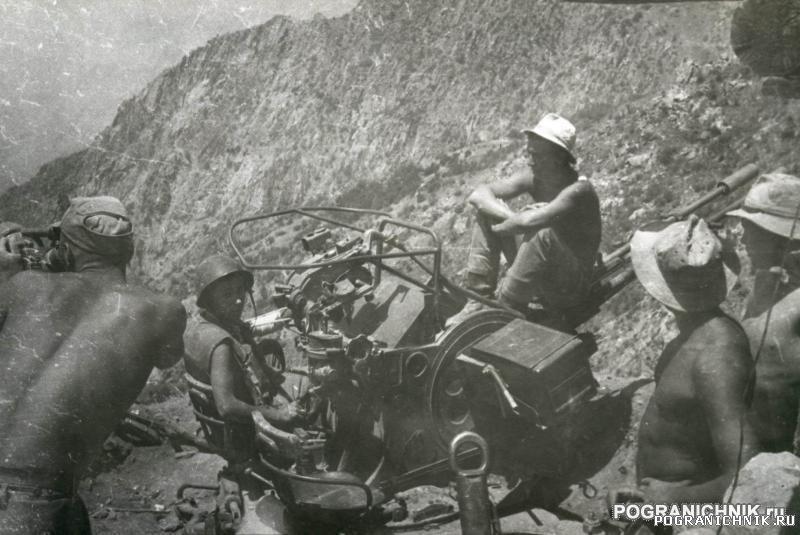 КСАПО (ДРА) Ущелье Дарай-Сабз.Муштиф.Август 1986г.