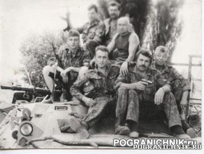 КЗакПО Грозный1995, прапорщики Новороссийского отряда
