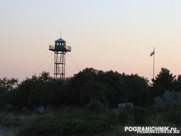 Новороссийск, застава Мысхако