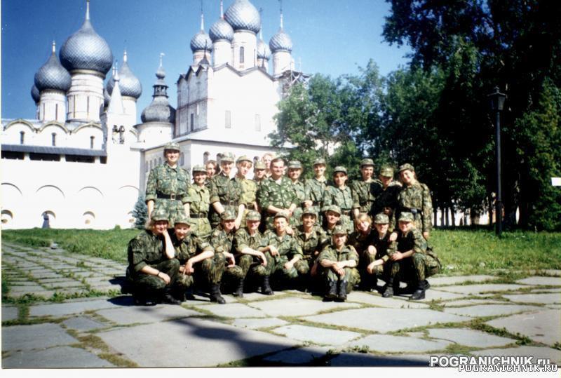 Экскурсия 501 учебной группы в Ростовский Кремль с ПУЦа. Авг