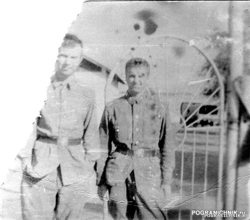 Дальнереченск 87 - Вовка Гончаров(справа) и Олег Ш.(слева).j