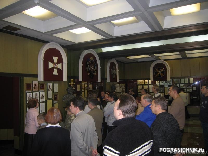 Пограничный музей. Во время экскурсии