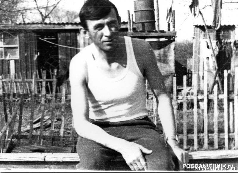 """КТПО.Начальник ПЗ""""Краснояровка""""капитан Андреев П.А"""