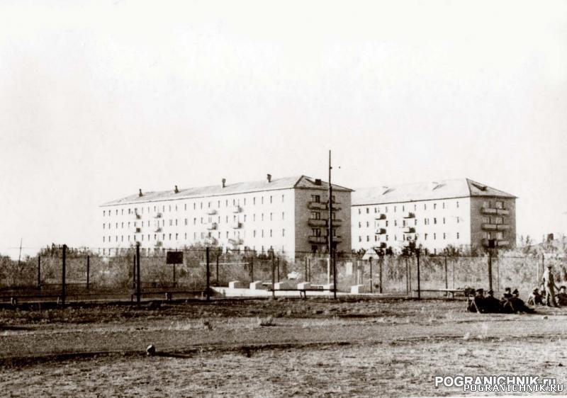 КВПО Уч-Арал 1975г. Офицерские дома