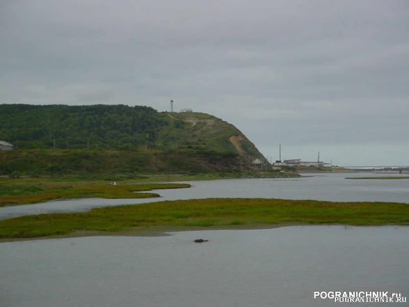 Наш ПТН стоит у самого залива 8 ПЗ Сахалин