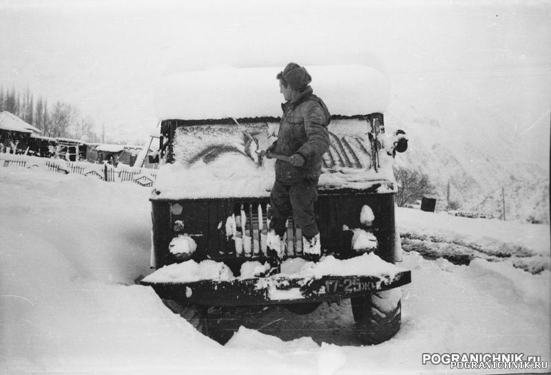 ОШский отряд. Зима 84-85 год