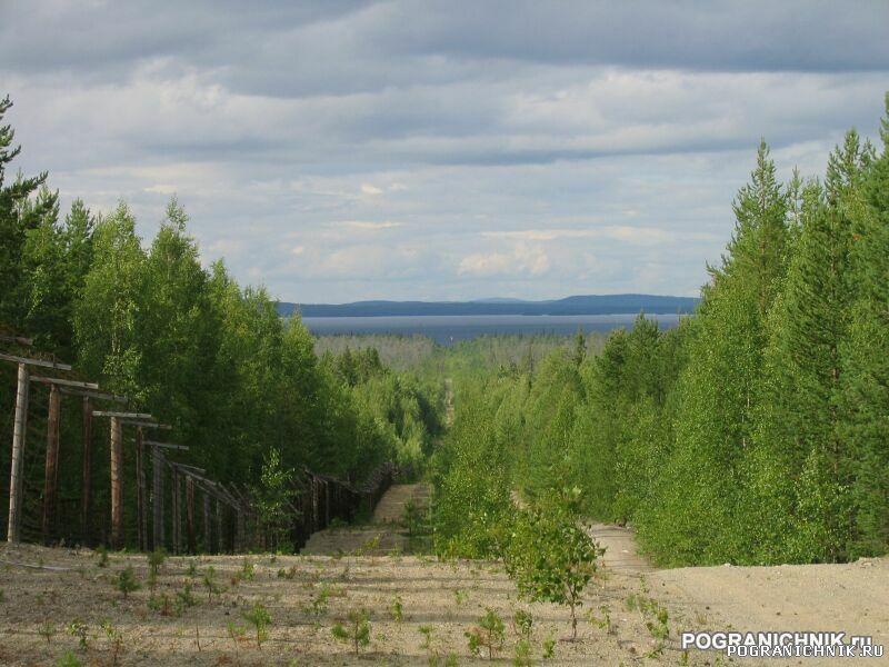 Калевальский ПО, Вмятина. Дорога к 1-му участку