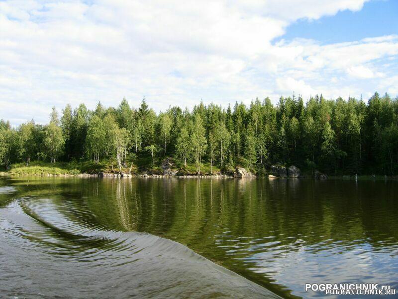 Калевальский ПО, Вмятина. Река Софьянга.