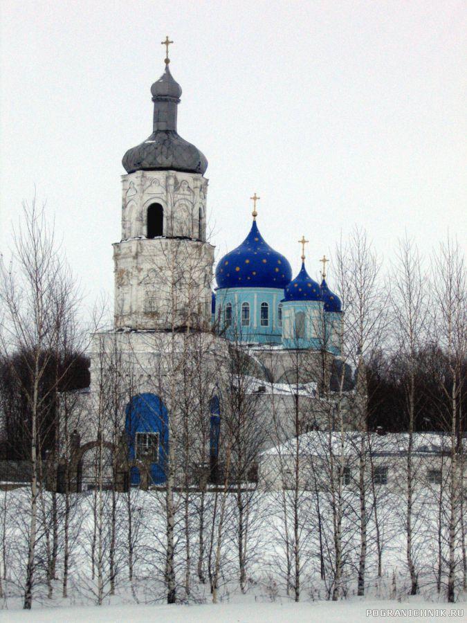 Церковь у села Становая Ряса
