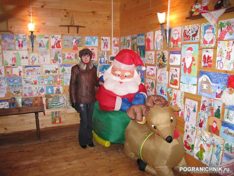 Подарки детей Деду Морозу