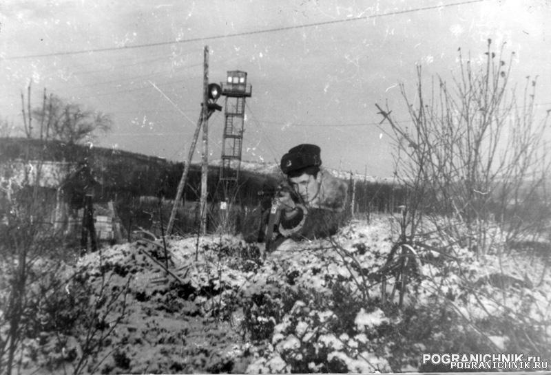 Сальмиярви-84 2пост, рубеж защиты поста.
