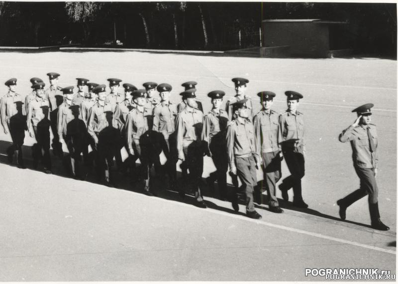 Тренировка 3 рота 2 взвод 1992 год