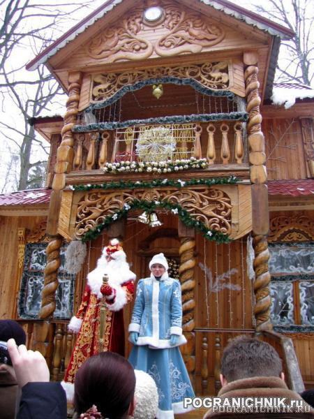 Терем Деда Мороза и Снегурочки