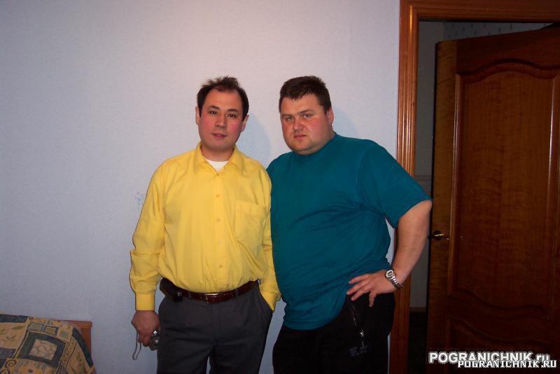 Я и Ибраев Канат