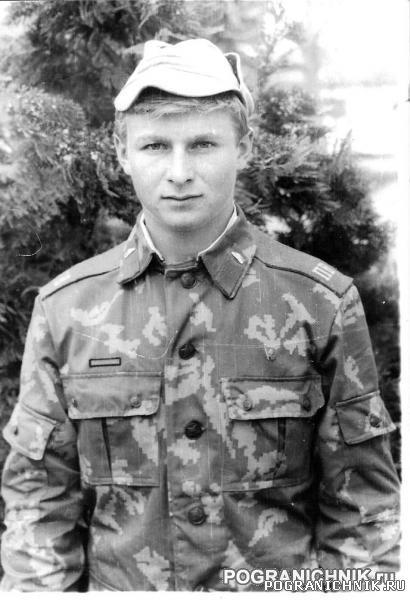 В. Вильчевский,  механик –водитель БМП-820, трагически погиб