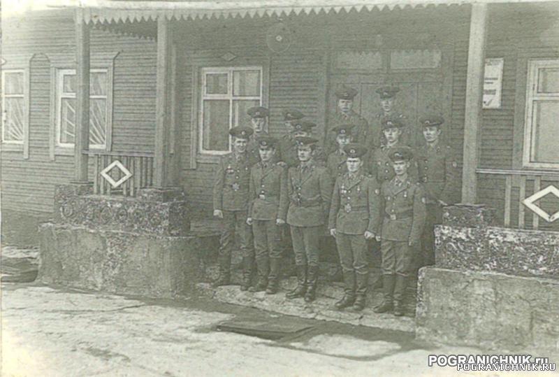 """114 пого погз """"Сентябрьская"""" 1986 год"""