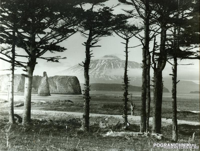 Южно-Курильский пого, вулкан Тятя