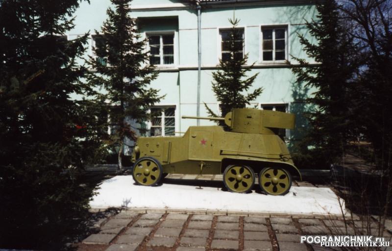 перед зданием штаба Гродековского отряда