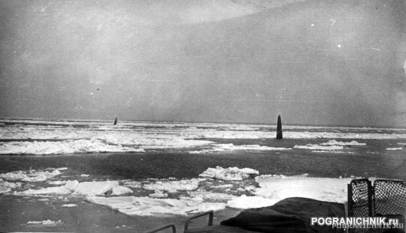Керченский пролив зимой 1987