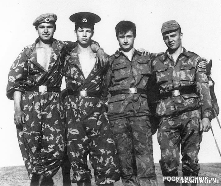 """КЗакПО Пришибский отряд 23ПЗ """"отделение СИС"""" 1989г"""