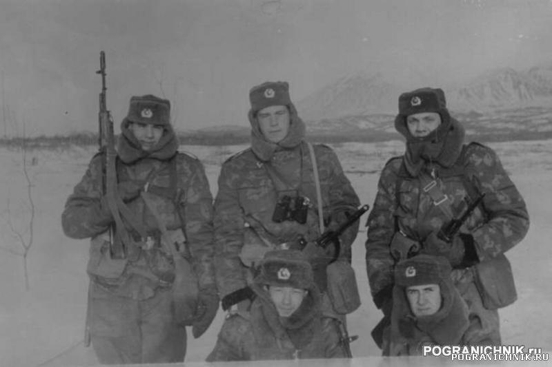 на полигоне в Радыгино (ПУТЦ) январь 1990