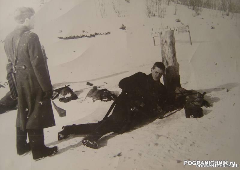 Никель 1984. АТР на стрельбище в Сальмах.