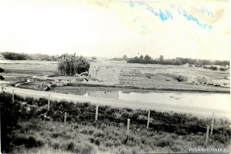 Вид на Талукан, с крепости 2ПЗ.