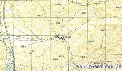 140.Район завершающего этапа операции против банды инж.Башир