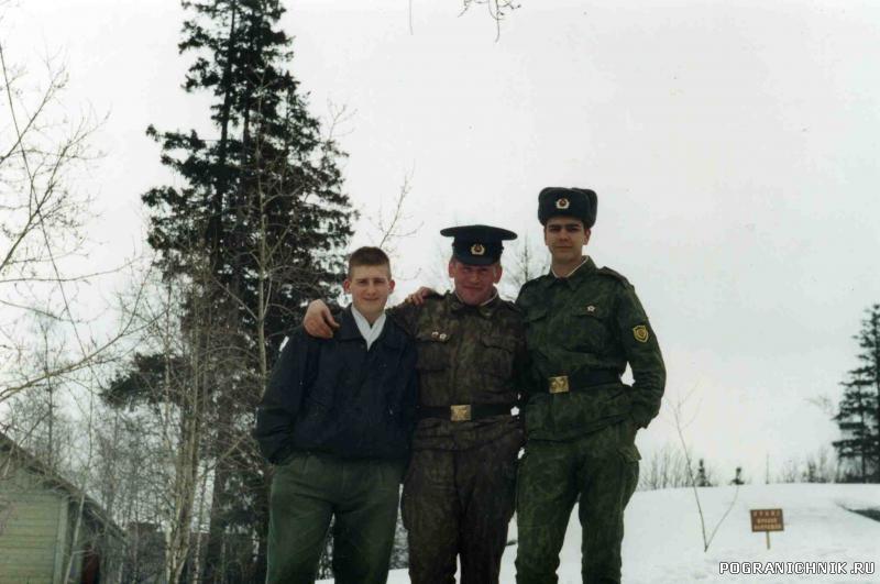 КСЗПО, отряд, г.Сортавала, 1993-1995г