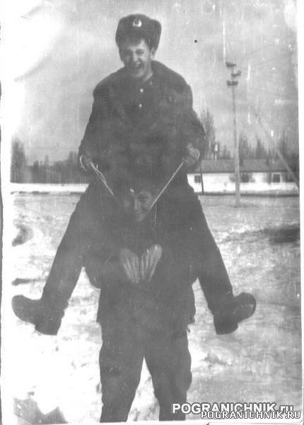 Сема на Шуре. Стаж Хоргос март 1989.jpg