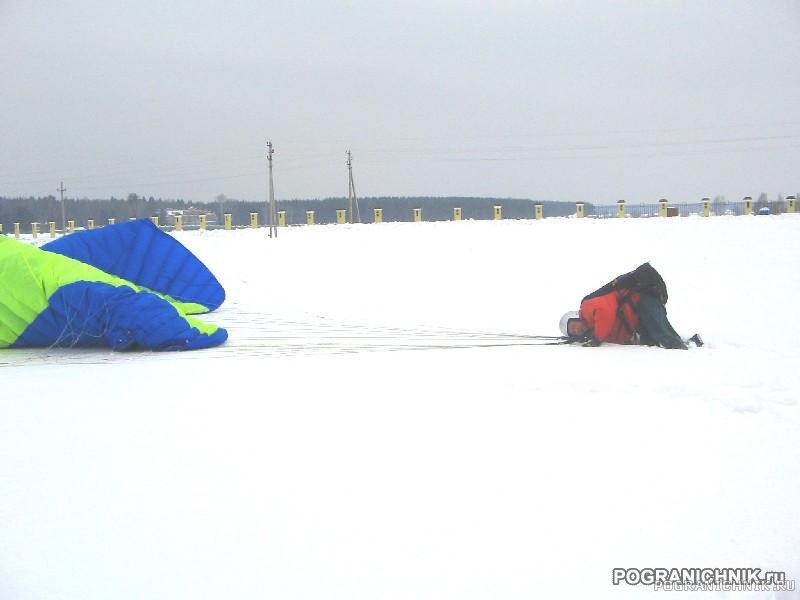 Посадка по-зимнему