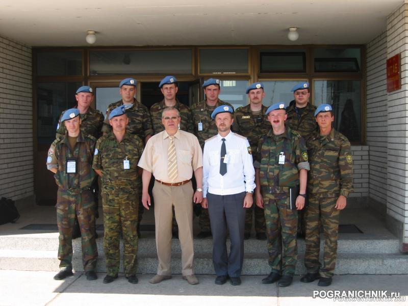 Тоцкий К.В. в Косово 2003 г.