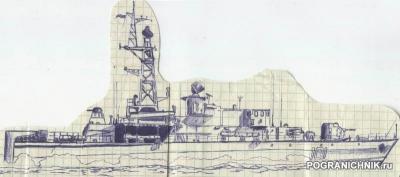 БКА и ПСКР проекта 1204, шифр