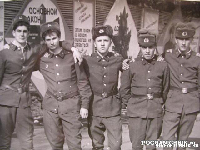 сержанты учебной автороты  осень 91  Ош.JPG