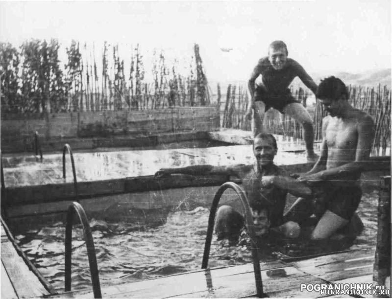 "Бассейн 1ММГ Маймана (из наливника ""Татра"") 1984 г"