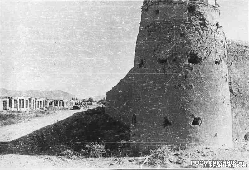 Крепость в долине Альмар 1984 год (прим.км 20 от 1ММГ  Майма