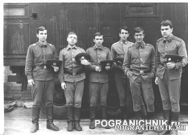 Дедушки роты связи 23 ПОГО 1974 год